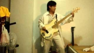Ryuichi Kawamura 這首歌真好聽河村隆一(Brilliant Stars) (BASS COVER)...