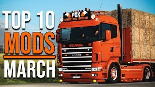 Top 10 Ets2 Mods   March 2020 | Euro Truck Simulator 2 Mods