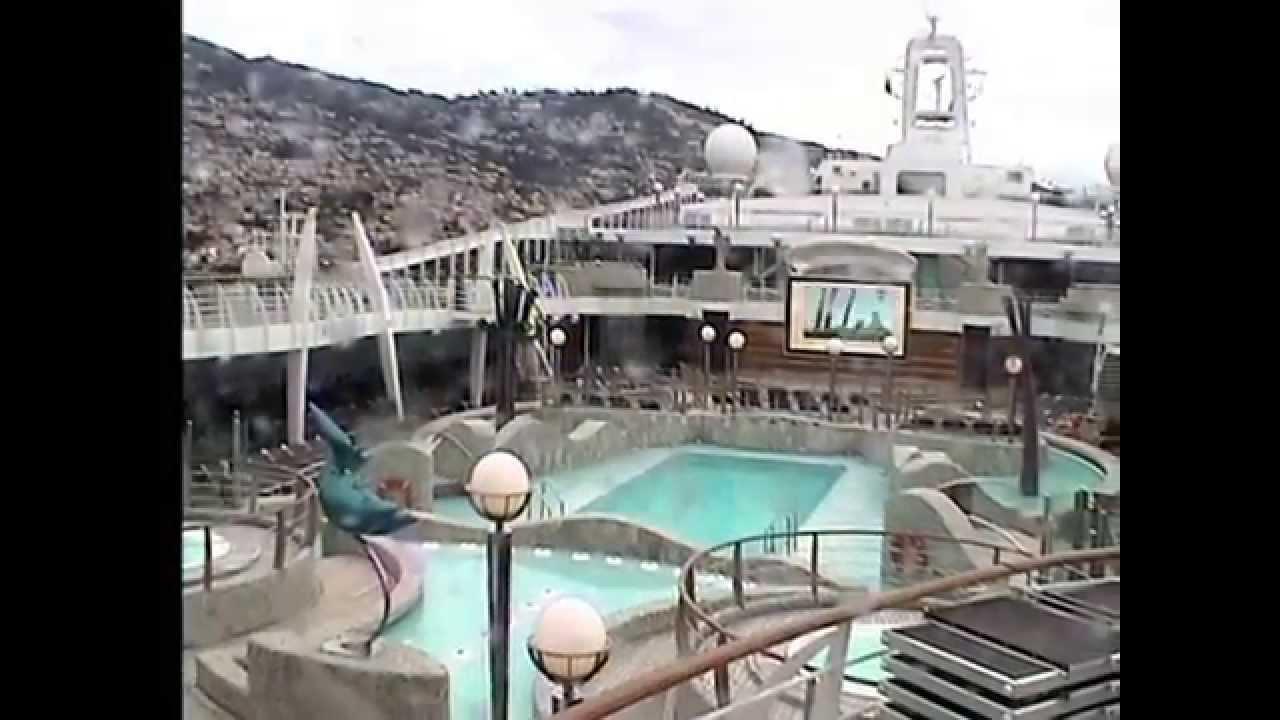 Cruise Mit Der MSC Fantasia Deck Webcam YouTube - Cruise ship web cameras
