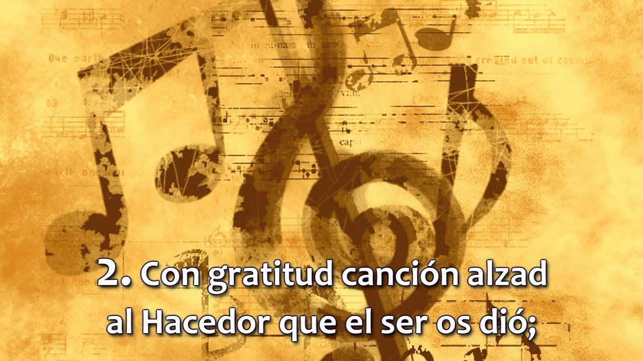 Himno No 001 - Cantad alegres al Señor | HD 1080p
