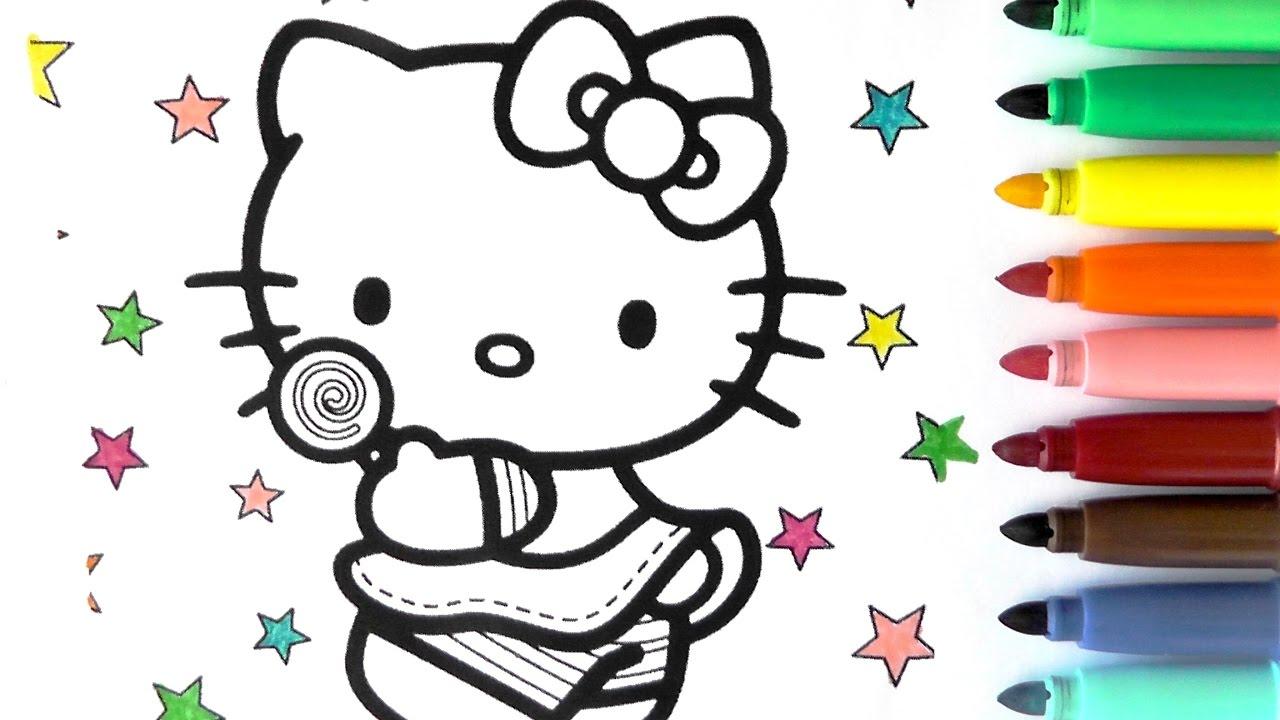 ROTULADORES MGICOS DE HELLO KITTY Color Wonder Hello Kitty