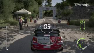 WRC 6 PS4 Final Gameplay - Citroen DS3 / VW Polo WRC