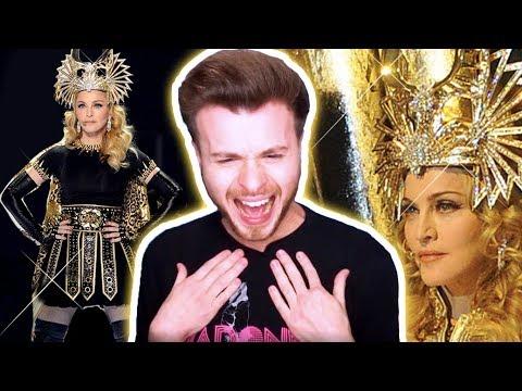 Madonna - Super Bowl 2012 Halftime Show [REACTION]