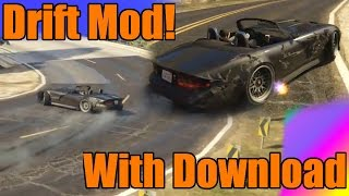 GTA 5 PC | NEW DRIFT MOD with Download!