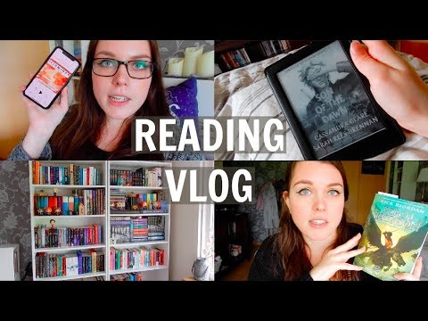 READING VLOG | Bookshelf Reorganization & Magical Readathon
