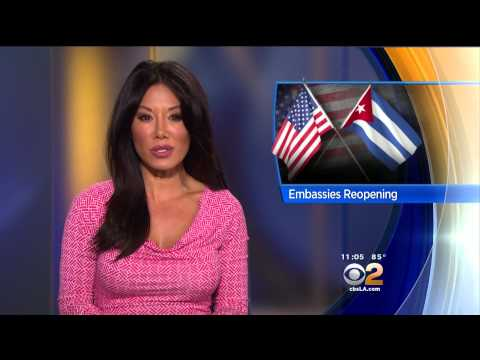 Sharon Tay 2015/07/01 CBS2 Los Angeles HD