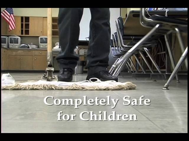 Green Cleaning in a ChildSafe School
