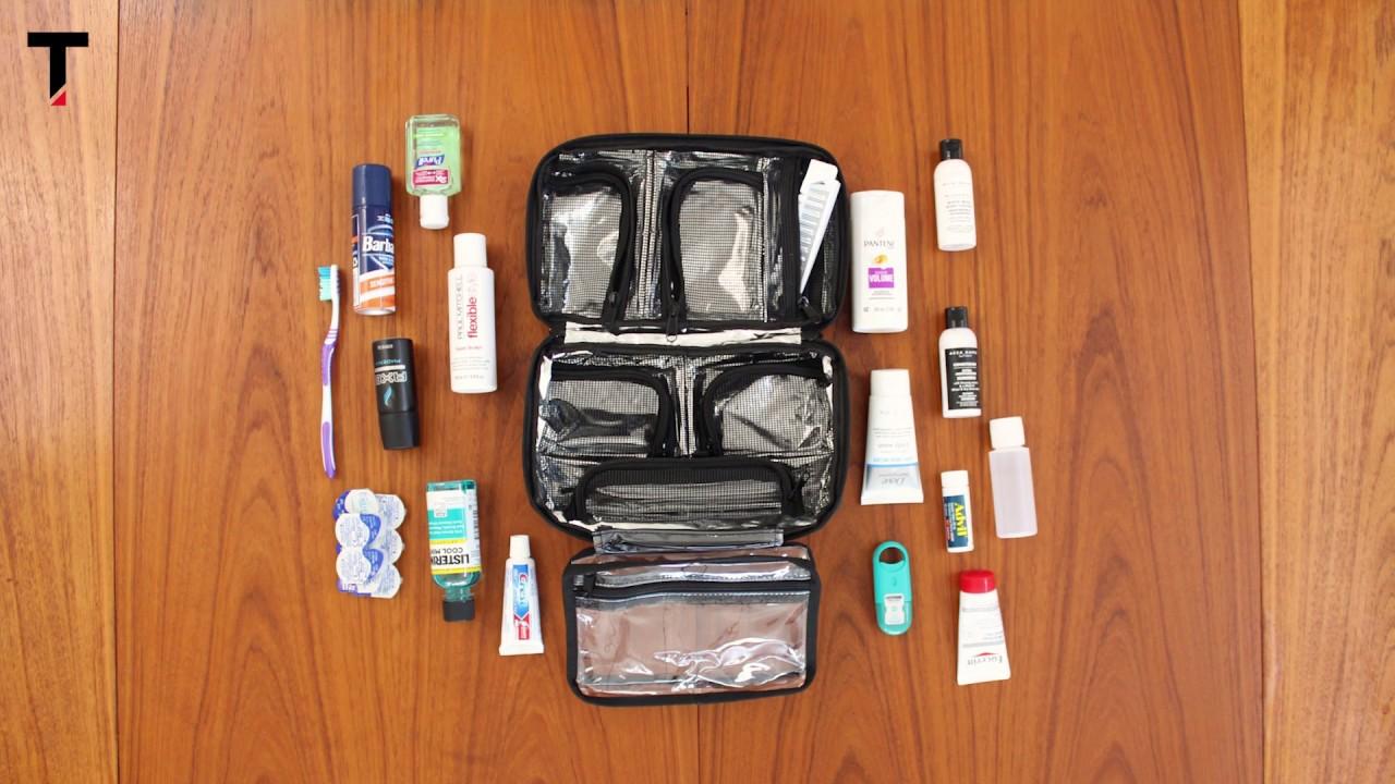 daa326e1a4ea The Best Compact Toiletry Bag - Taskin Xpess - YouTube