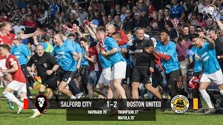 Salford City 1-2 Boston United - National League North 21/04