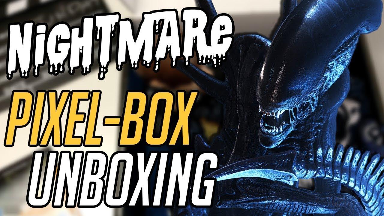 "ŚWIETNA PACZKA! – Unboxing ""Nightmare"" PIXELBOX"