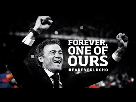 Thanks, Luis Enrique #ForeverLucho