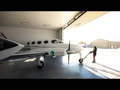 Karen Cessna 340 Flight