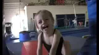 1 year old Baby Coco first year in Gymnastics