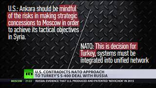 'US not happy with Turkey's govt': Ankara 'may face sanctions' for buying Russian S-400 missiles