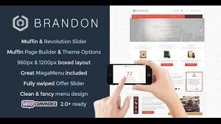 Brandon Wordpress Theme Review & Demo | Responsive Multi-Purpose WordPress Theme | Brandon Price & How to Install