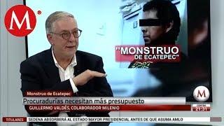 Guillermo Valdés opina sobre el feminicida de Ecatepec