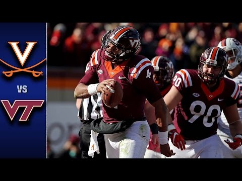 Virginia vs. Virginia Tech Football Highlights (2016)