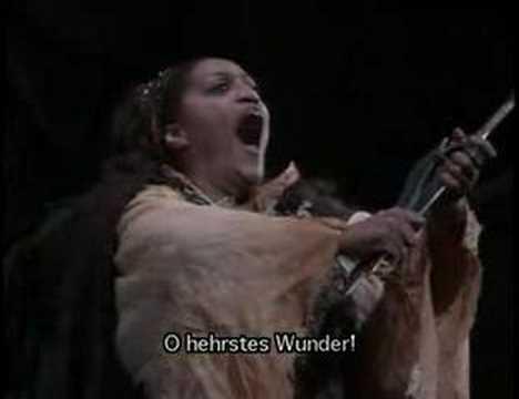 O hehrstes Wunder! Jessye Norman in Walküre