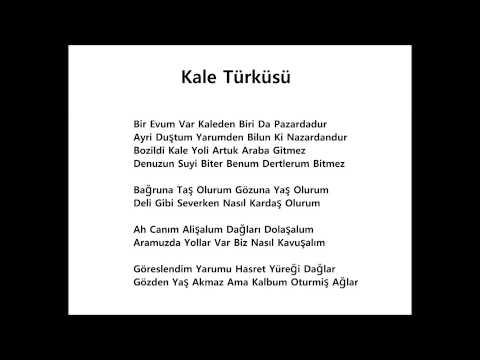 Nesli-Şah & Amatör Şarkıcı - Kale Türküsü (Cover) + Şarkı Sözü