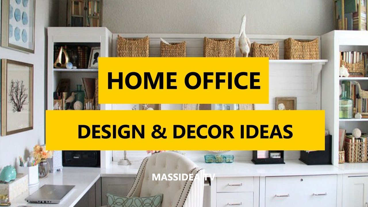 50+ Awesome Home Office Design & Decorating Ideas images 2018 - YouTube
