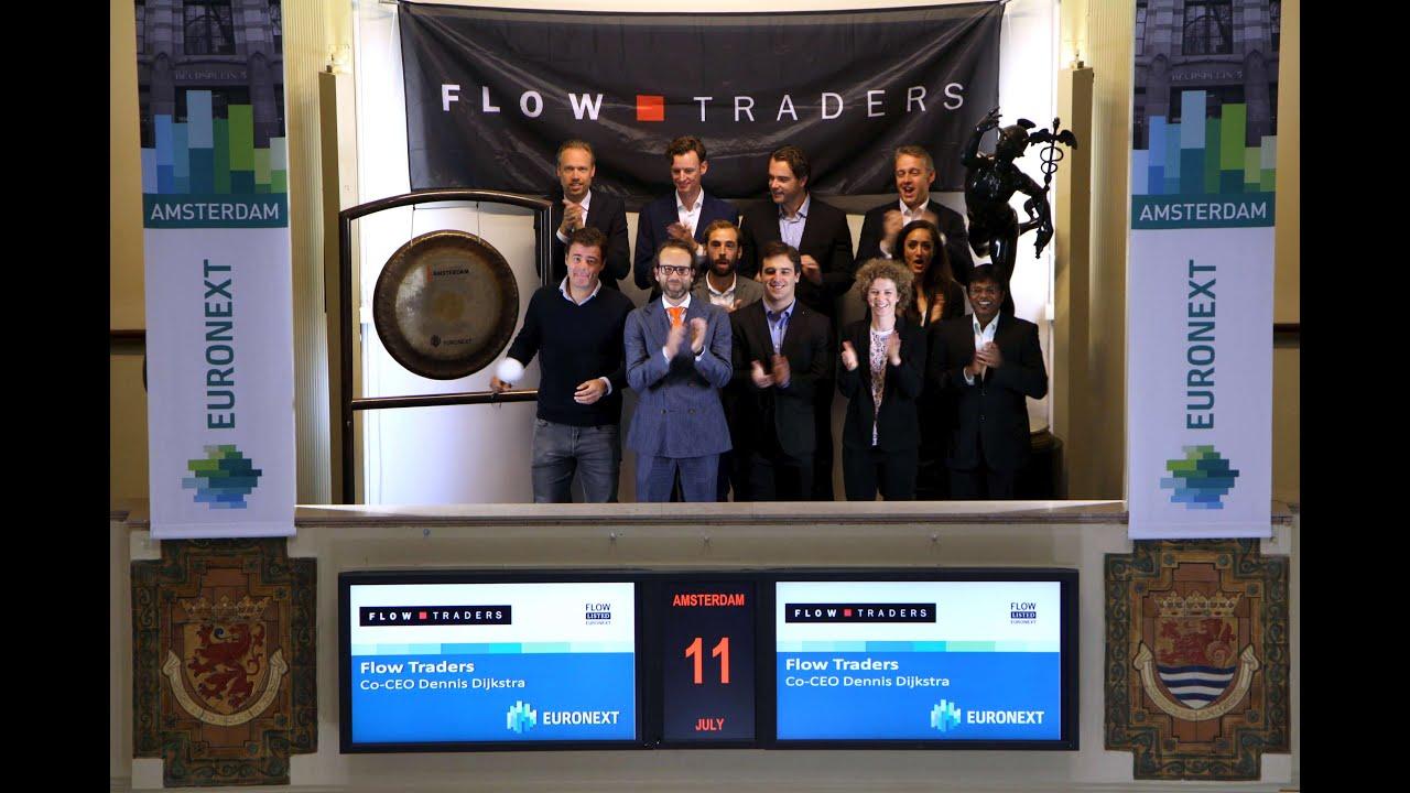 Hoe is het om te werken bij Flow Traders?