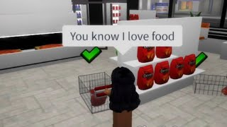 you know I love food || Full Video || Roblox Skit || SimplyCoco