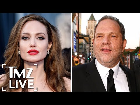 Angelina Jolie: Harvey Weinstein Came On To Me  TMZ Live