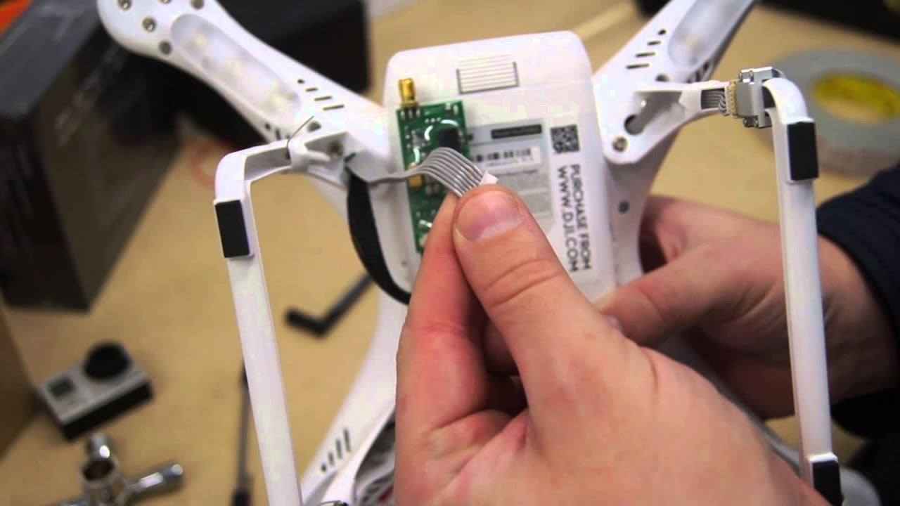 How to install FPV and Zenmuse to a DJI Phantom 2 - That HPI Guy