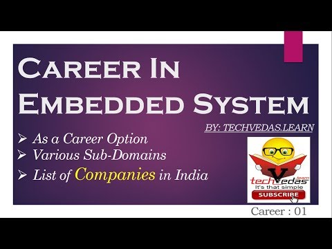 Career In Embedded Systems | Embedded Systems Companies In India