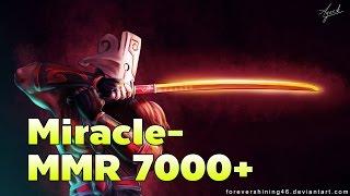 [Dota2] Miracle- Pro Juggernaut Mid MMR 7000 Ranked Game [ Miracle-Gameplay ]