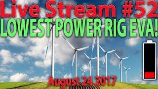 Live Episode #52 LOWEST POWER RIG EVA! 6x Gigabyte 1060GTX 3GB | Ethereum's Sept 17 Hardfork