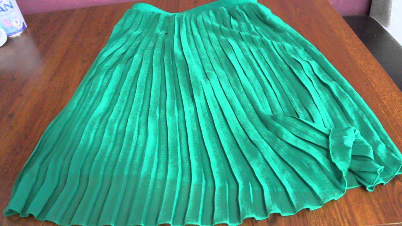 Переделки платье из длинной юбки