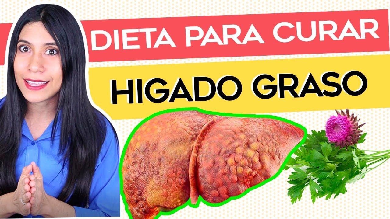 Alimentos para sanar el higado graso