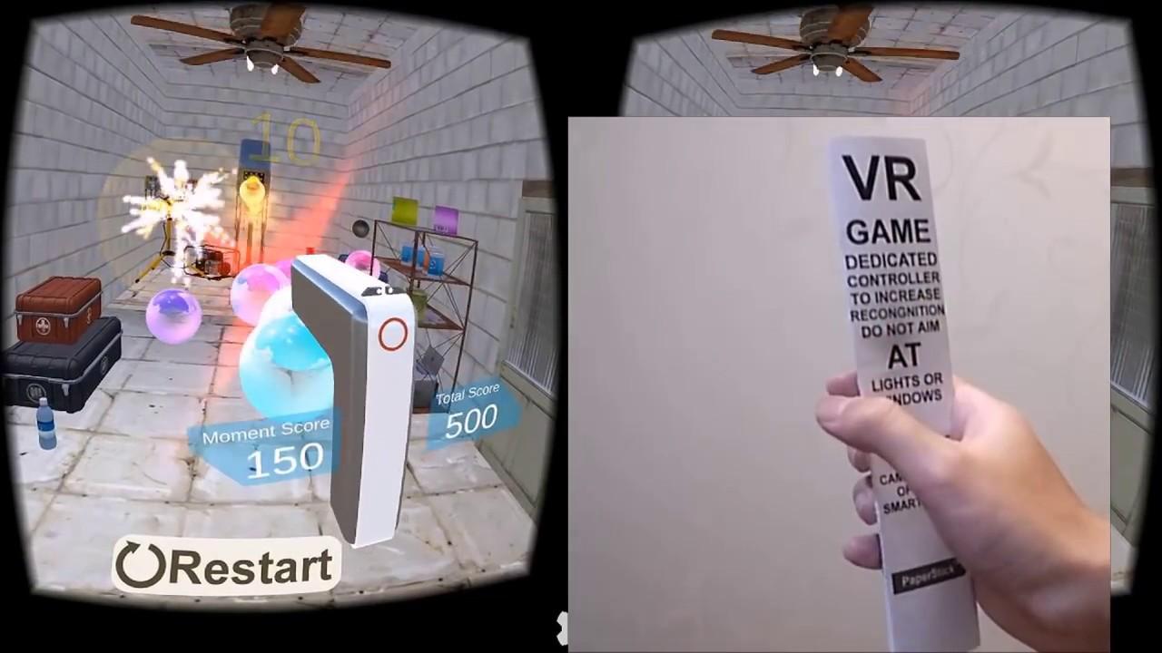 0614848bb740 DIY PaperStick VR Controller