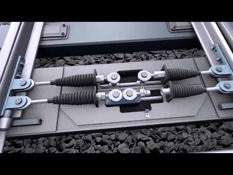 Видео крушение пассажирского поезда, с дальнейшей анимацией и доходчивыми комментариями ( English)
