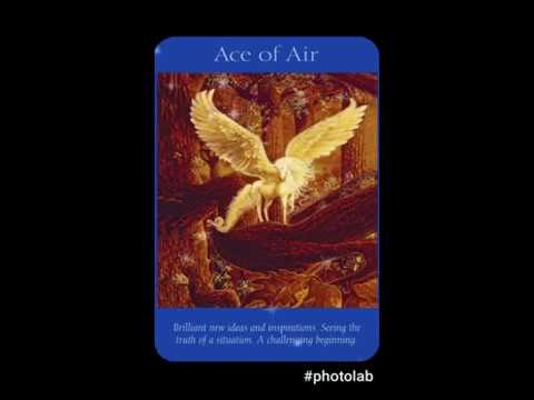 Daily Angel Tarot ACE OF AIR Friday 10th March 2017
