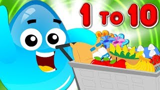 Learn Numbers With Crazy Eggs | Cartoon Videos by KIds Tv