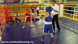 Куприец Степан (Тайшет) vs Сазонов Егор (Тулун)