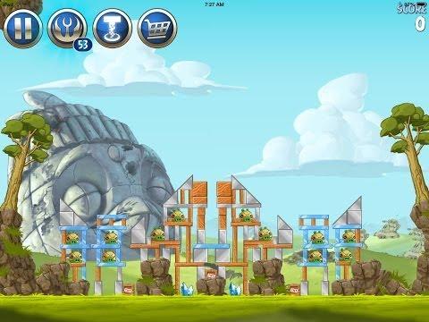 Angry Birds Star Wars 2 Level B3-S3 Battle of Naboo Sidequest 3-Star Walkthrough