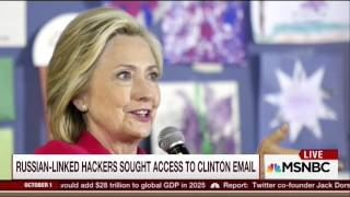 AP: Hillary Clinton Routinely Received Information That Shouldn't Have Been In The Public Domain