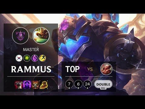 Rammus Top vs Vladimir - KR Master Patch 10.10