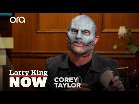 Put Your Mask On Corey Corey Taylor Interview Larry King Now Ora TV