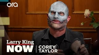 Put Your Mask On Corey | Corey Taylor Interview | Larry King Now Ora TV