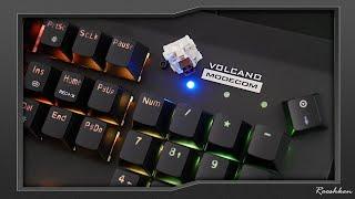 Modecom Volcano Hammer 2 RGB - Klawiatura z wyjmowanymi przełącznikami Outemu Box