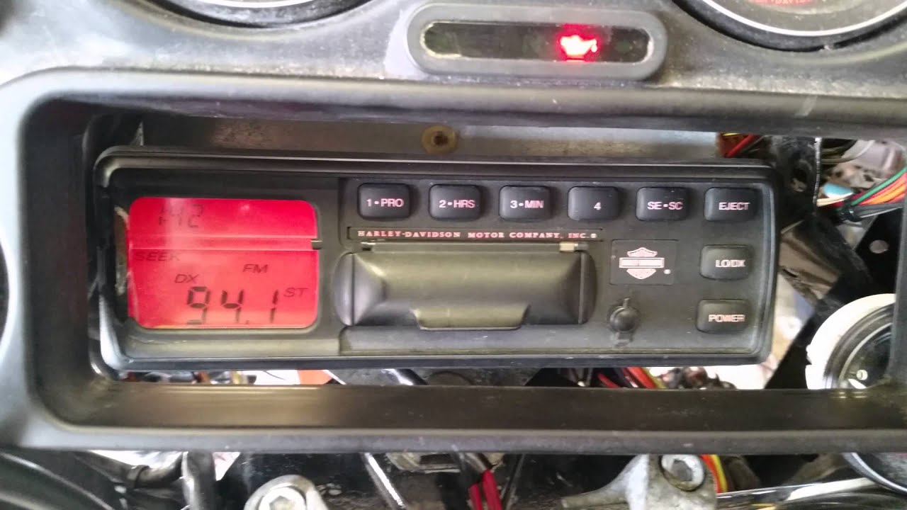 Harley Davidson Ultra Classic Radio