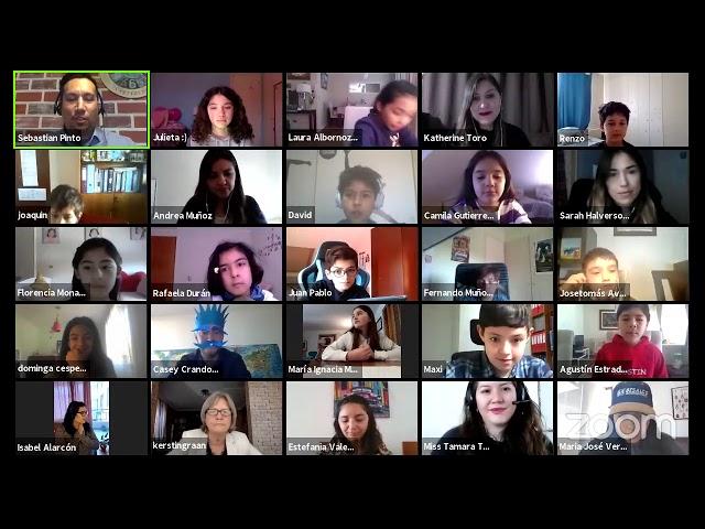 First online Spelling Bee Pumahue Peñalolén 2020