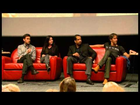 Charmed Paris 2014 - Shannen, Drew, Wes and Dorian Part01