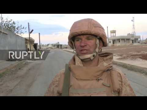 Syria  Mustard gas shell found in area of militant attack   Russian military