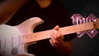 ACDC - Thunderstruck разбор на гитаре