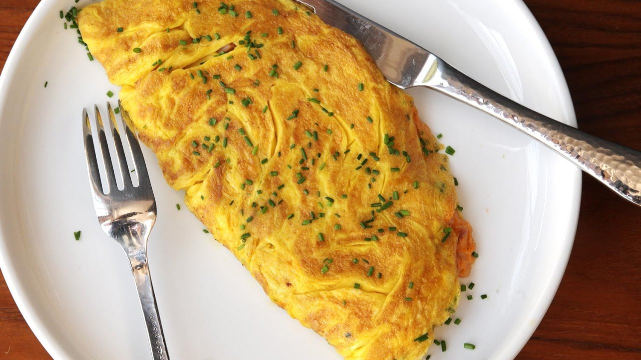 Tutorial Masak Omelette Ala Chef Juna